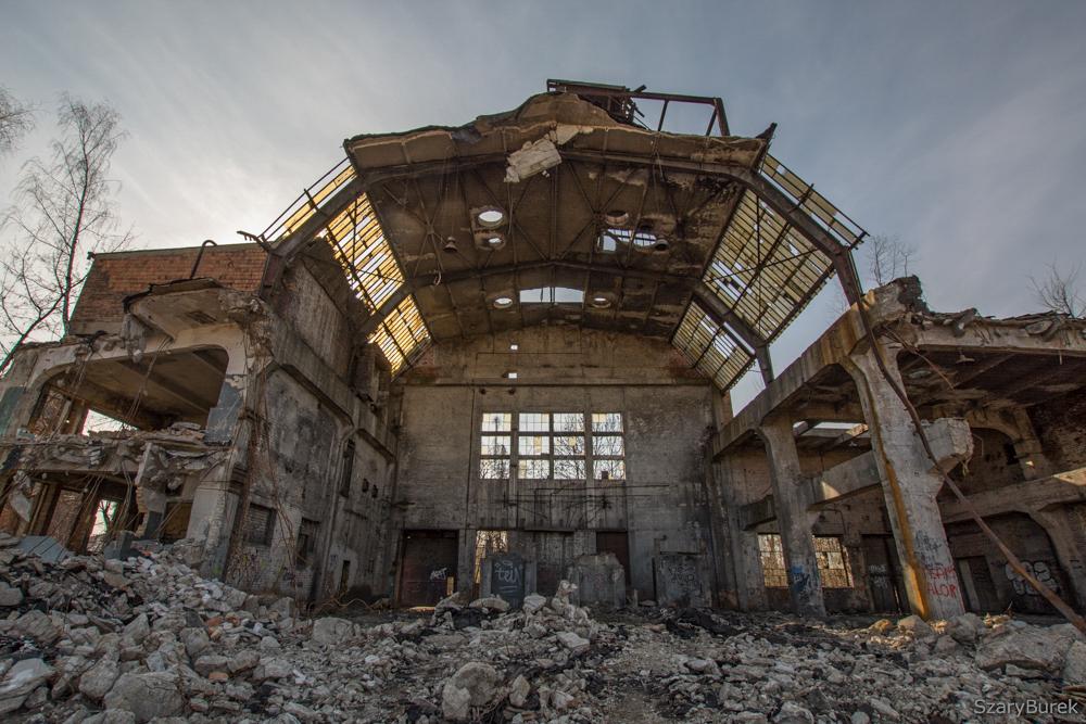 Historyczna fabryka Ursus w Warszawie