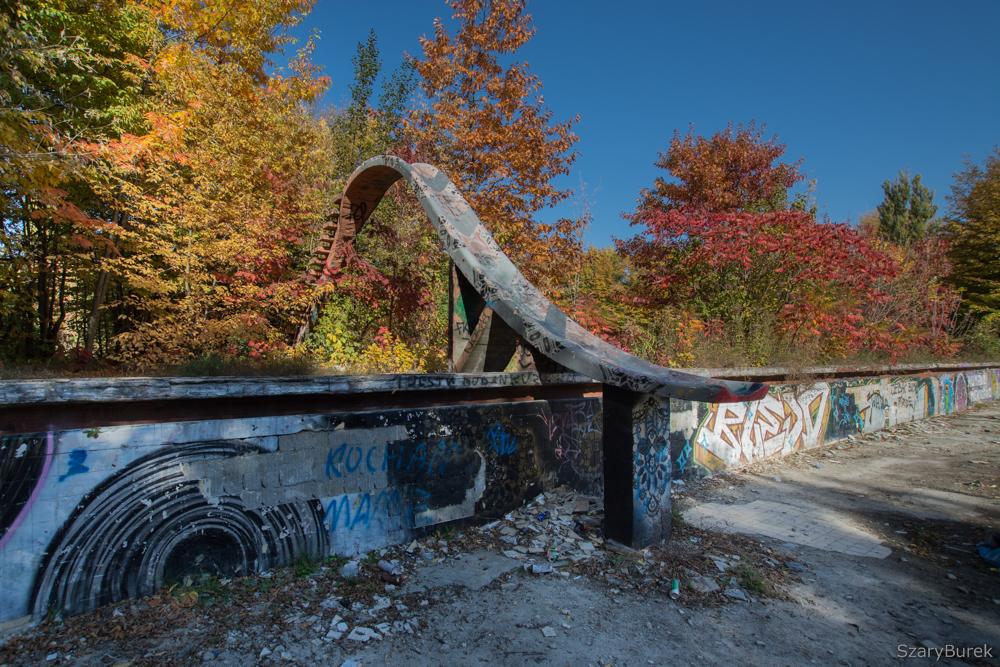 Baseny Skry jesienią
