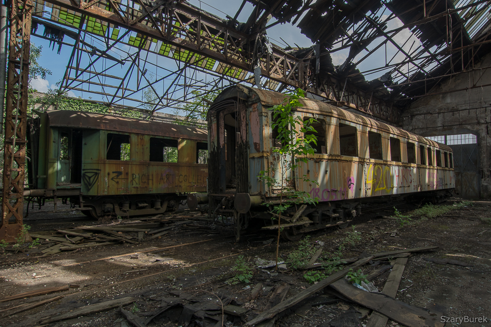 Zapomniany warsztat kolejowy
