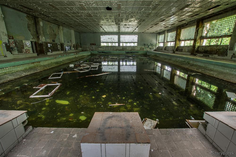 Opuszczony szpital w Legnicy