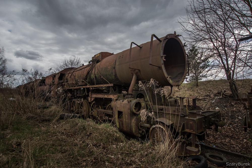 Zapomniane składy kolejowe