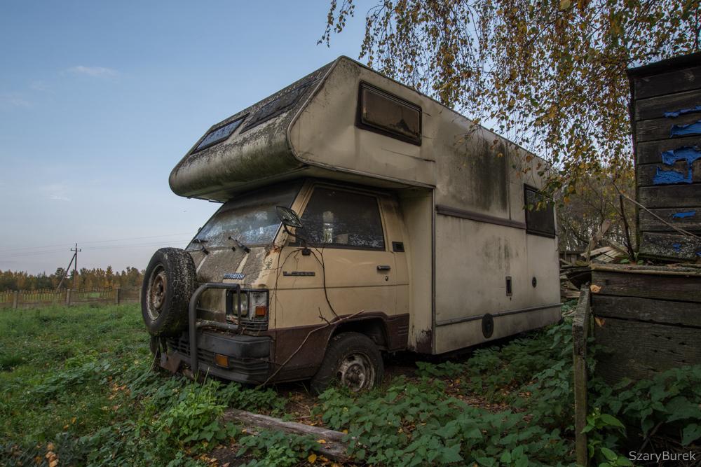 Opuszczony kamper